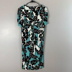 RETRO BCBG 60'S MOD STYLE DRESS